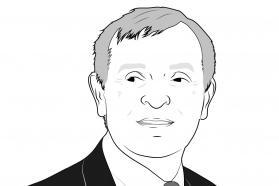 Portrait dessiné du climatologue Jean Jouzel.