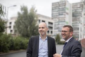 Nicolas Grivel, directeur général de l'ANRU et Olivier Klein, président de l'ANRU.