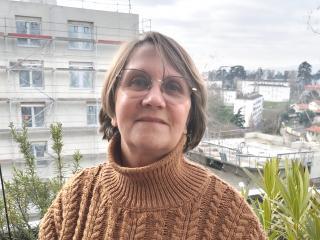 Chantal Pilet, habitante de Lyon La Duchère