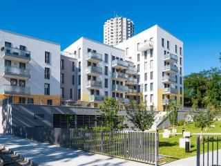 L'une des résidences historiques et entièrement rénovée du quartier de La Duchère.