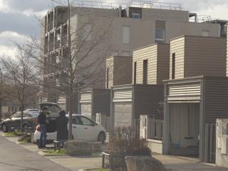 nouvelles maisons individuelles dans le quartier d'orgeval