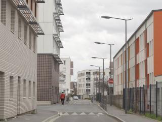 Une partie du quartier d'Orgeval a déjà bénéficié d'importantes rénovations.