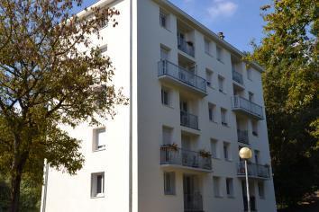 Rénovation du bâti, avenue Notre Dame du Lac, quartier Belle Beille à Angers (49)