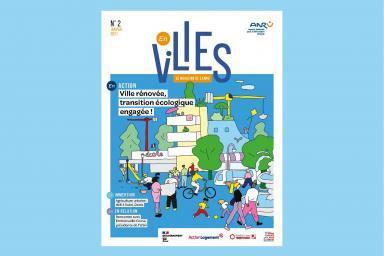 Couverture du magazine de l'Agence Nationale pour la Rénovation Urbaine, En Villes n°2