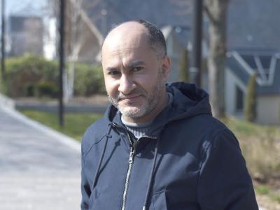 Mohammed Boukhssaye, habitant du quartier et membre du conseil citoyen