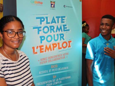 Plateforme pour l'emploi à Mayotte